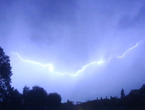 تحديث | توقعات بتجدد بعض الزخات الرعدية من الامطار خلال الساعة القادمة في محافظة اربد و ضواحيها