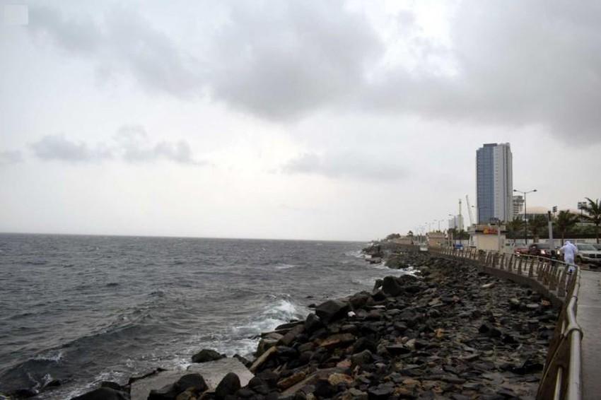 ما مدى قوة الحالة الجوية على مدينة جدة اليوم طقس العرب
