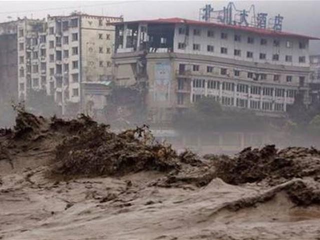 فيضانات عارمة تجتاح الصين و 22 قتيلاً حتى صباح الثلاثاء