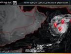 الإعصار مها يحوم بعيداً عن الدول العربية مع بعض التأثيرات غير المباشرة