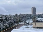 Snow decorates the Iraqi capital, Baghdad, in a rare event, `not repeated for decades` ... witness