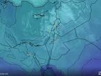 تحديث الساعة 5:00 فجرا .. غيوم ذات فعالية أعلى تقترب من المملكة