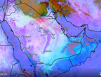 تحديث 4:00 م | موجة من الغبار تندفع نحو حفر الباطن وتوقعات باستمرار تأثيرها عصر ومساء السبت