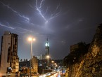 مكة المكرمة | ترايد فرص الأمطار الرعدية على مكة المكرمة والمشاعر المقدسة الأحد والإثنين