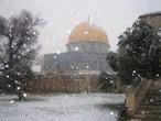 من ذكريات أليكسا .. الثلوج الكثيفة تغطي القدس الشريف