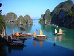 عجائب الطبيعة في خليج هالونغ باي بفيتنام