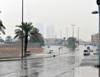 How strong is the weather on the capital, Riyadh, Friday?