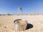 الرمال لتخزين الطاقة الشمسية في الإمارات العربية