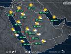 السعودية | اتساع رقعة وشدة الأمطار الرعدية تمتد أحياناً نحو سواحل جازان يومي الأحد والإثنين