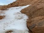 زخات ثلجية خفيفة متوقعة على شمال الجوف و الحدود الشمالية الأربعاء