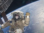 On the International Space Station ... astronauts receive the new year 15 times