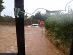 مياه الامطار والسيول تغرق مناطق في جنوب شرق اسبانيا