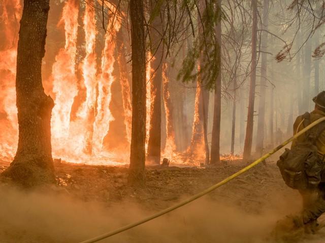 عواصف رعدية تتجمع فوق كاليفورنيا ومخاوف من اتساع حرائق الغابات بفعل البرق