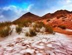 السعودية | زخات ثلوج محتملة على قمم جبل اللوز في منطقة تبوك فجر وصباح الخميس