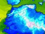 موجة برد شديدة تضرب ليبيا و تونس و الجزائر والثلوج تغطي قمم جبال الهقار جنوب الجزائر