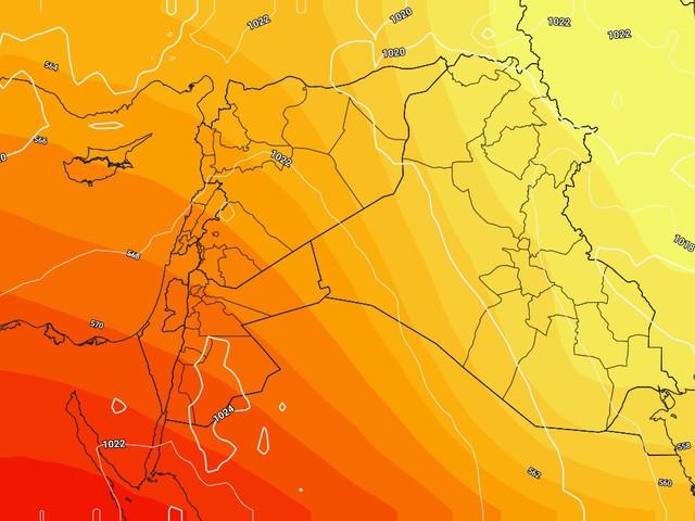 تراجع الفعالية الجوية يوم الإثنين وإستقرار الأجواء يومي الثلاثاء والأربعاء