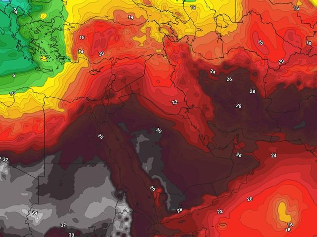 ارتفاع واضح على درجات الحرارة الأحد.. وطقس خماسيني يوم الاثنين