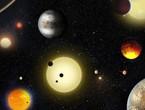 اكتشاف نظام مشابه للمجموعة الشمسية