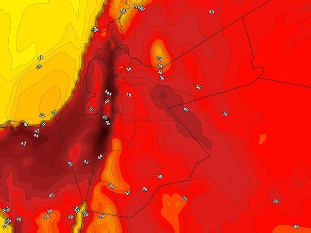 ارتفاع على الحرارة في الأيام القادمة.. وموجة حارّة تؤثر على المملكة نهاية الأسبوع