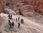 كوادر الدفاع المدني تستكمل عمليات البحث والتفتيش في البحر الميت