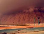 السعودية | موجة الغبار الأقوى لهذا الموسم ستؤثر على تبوك والجوف وحائل والحدود الشمالية نهار الجمعه