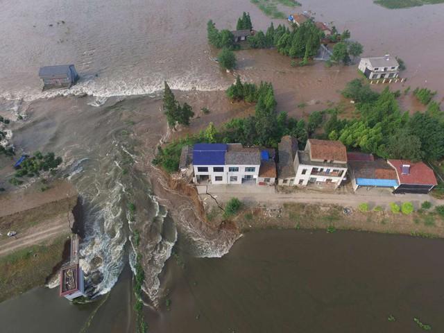 الأمطار الغزيرة تتسبب بأضرار كبيرة في الصين