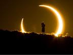 The annular eclipse of the sun ... How does it happen? What is the difference between it and the total or partial eclipse?