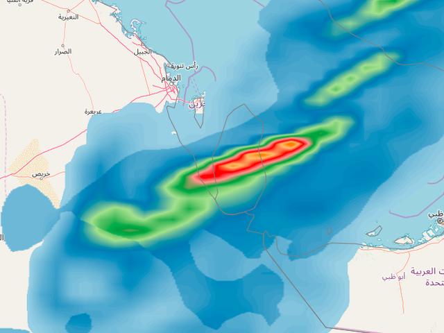 قطر | طقس غير مستقر والحالة الماطرة تصل ذروتها فجر وصباح الأربعاء