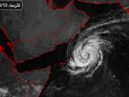 الأرصاد العمانية تعلن تطور العاصفة المدارية لبان إلى اعصار من الدرجة الأولى وترجح تحركه نحو ظفار واليمن