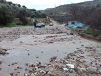 After being closed by dirt and gravel ... the Jdita - Ajloun road was opened