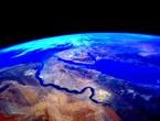 هذه أحدث صورة لمصر من الفضاء