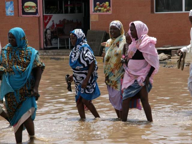 7 قتلى على الأقل في موجة فيضانات تجتاح السودان