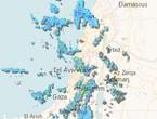 الأردن-تحديث الساعة 10-08 صباحاً-سحب كثيفة محملة بالامطار والثلوج تندفع نحو المملكة