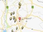 الأردن-بدأ عبور الجبهة الهوائية وسط المملكة واشتعال البروق