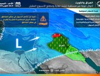 الكويت | أمطار رعدية مُحتملة شمال البلاد نهار الإثنين