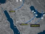 جبهة هوائية باردة مُرافقة لمنخفض جوي تعبر عدد من دول الخليج العربي يومي السبت والاحد