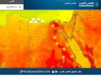 الاثنين | ارتفاع أخر بدرجات الحرارة وطقس مستقر على معظم مناطق مصر