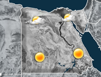 Egypt A state of air instability on the west of the country Monday