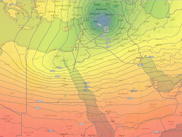 أحوال جوية غير مستقرة متوقعة على الجزيرة العربية حتى مطلع الشهر المقبل
