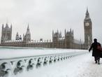 موجة من الثلوج متوقعة على القارة الاوروبية الاسبوع القادم