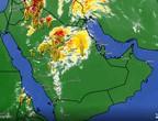 تحديث الساعة 5:30 مساءً | استمرار انتشار السحب الرعدية على أجزاء واسعة من شمال ووسط السعودية