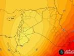 الاردن-ازدياد حدة حالة من عدم الاستقرار الجوي ليل الثلاثاء/الاربعاء ويوم الاربعاء